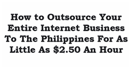 Learn Philippines outsourcing with John Jonas – free training!